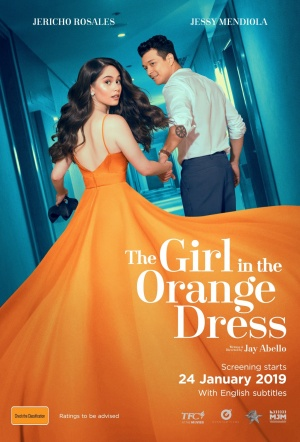 The Girl in the Orange Dress Film Poster