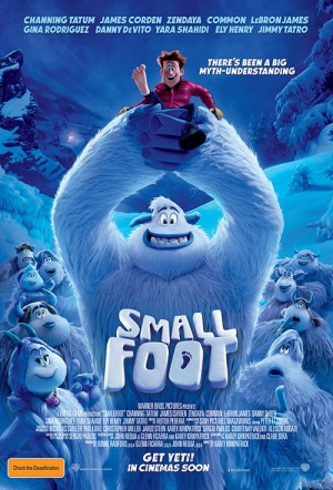Smallfoot 3D Film Poster