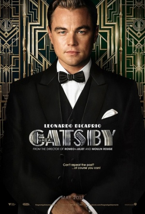 The Great Gatsby 3D Film Poster