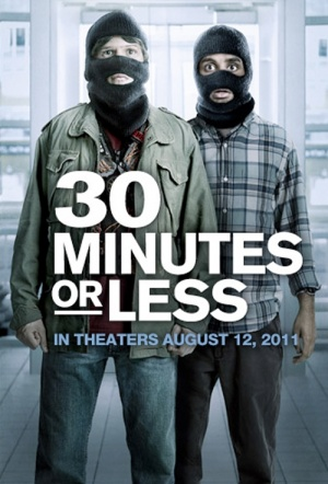 30 Minutes or Less Film Poster