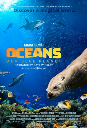 Oceans 3D: Our Blue Planet Film Poster