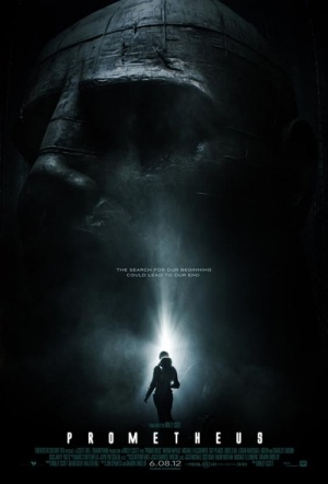 Prometheus 3D Film Poster