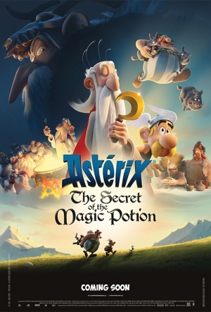 Asterix: The Secret of the Magic Potion Film Poster