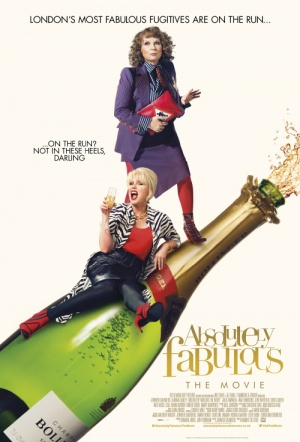 Absolutely Fabulous: The Movie Film Poster