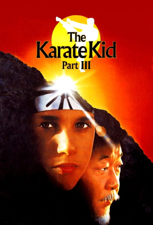 The Karate Kid Part III Film Poster