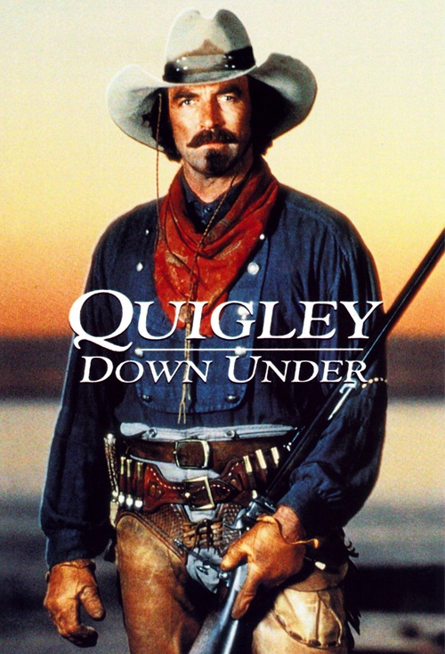 Quigley Down Under Film Poster