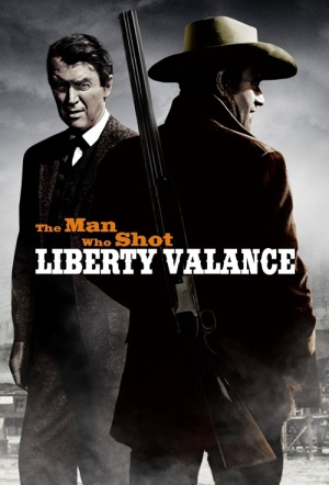 The Man Who Shot Liberty Valance Film Poster