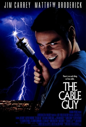 The Cable Guy Film Poster