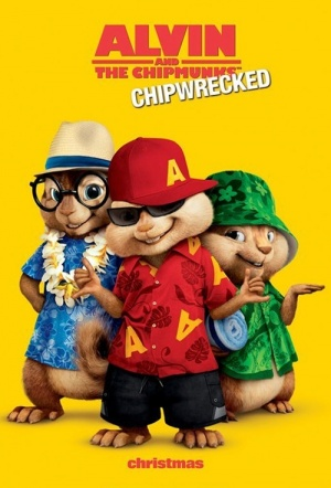 Alvin and The Chipmunks: Chip-Wrecked Film Poster