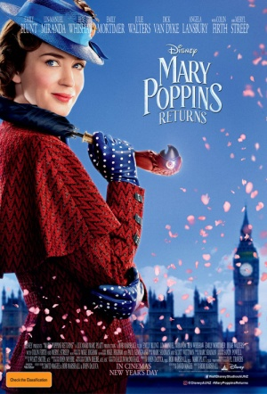 Mary Poppins Returns Film Poster