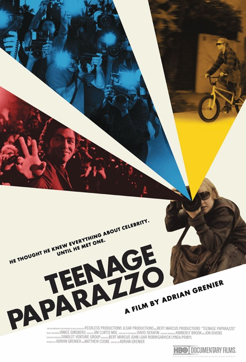 Teenage Paparazzo Film Poster