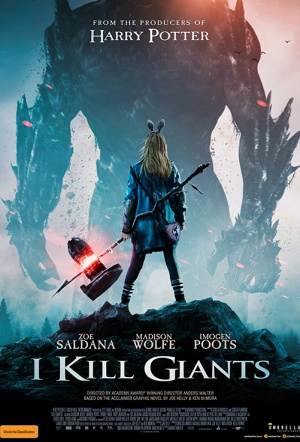 I Kill Giants Film Poster