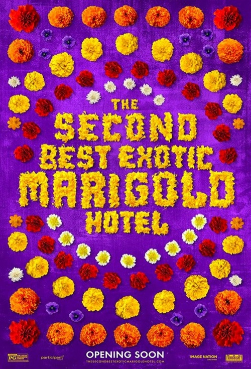 The Second Best Exotic Marigold Hotel Film Poster