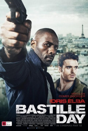 Bastille Day Film Poster