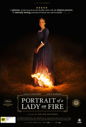Portrait of a Lady on Fire Film Poster