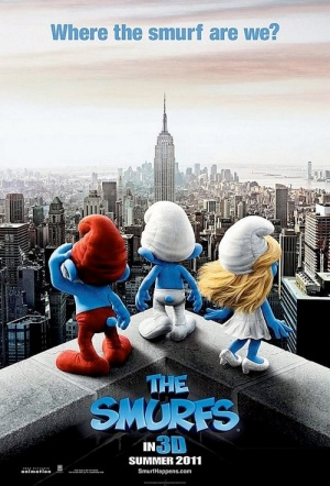 The Smurfs 3D Film Poster