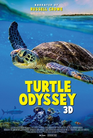 Turtle Odyssey 3D Film Poster