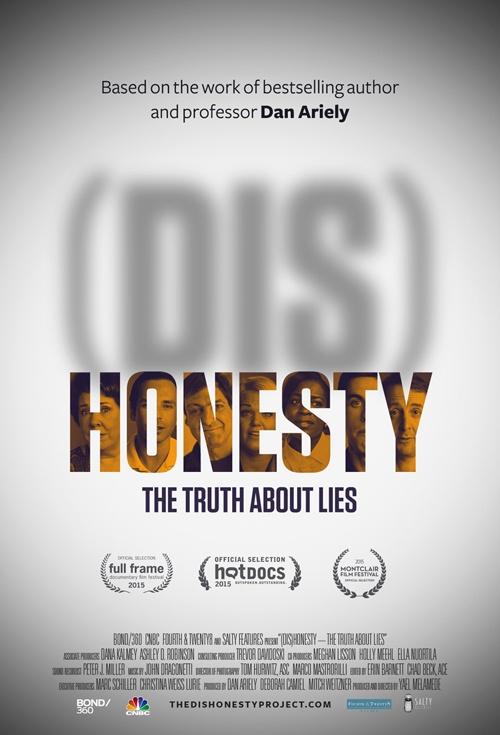 (Dis)Honesty: The Truth About Lies Film Poster