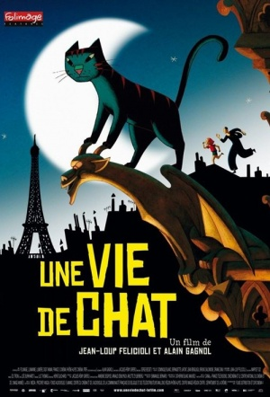 A Cat in Paris Film Poster