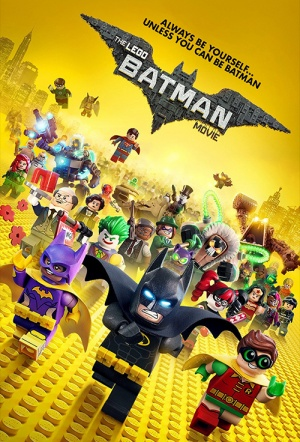 The LEGO Batman Movie 3D Film Poster