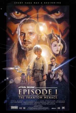 Star Wars: Episode I - The Phantom Menace 3D Film Poster