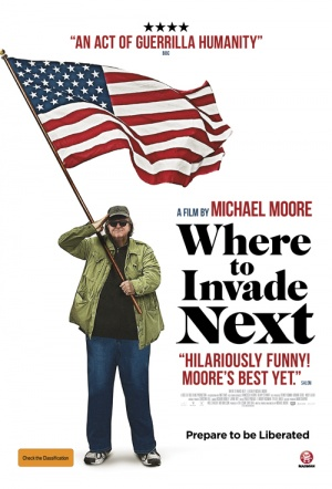 Where to Invade Next Film Poster