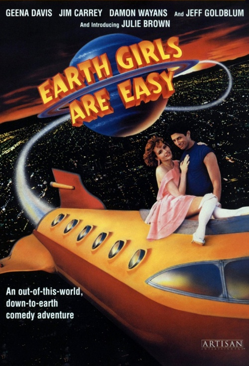 Earth Girls Are Easy Film Poster