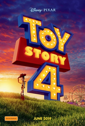 Toy Story 4 3D Film Poster