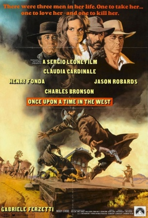 Once Upon A Time In The West Film Poster