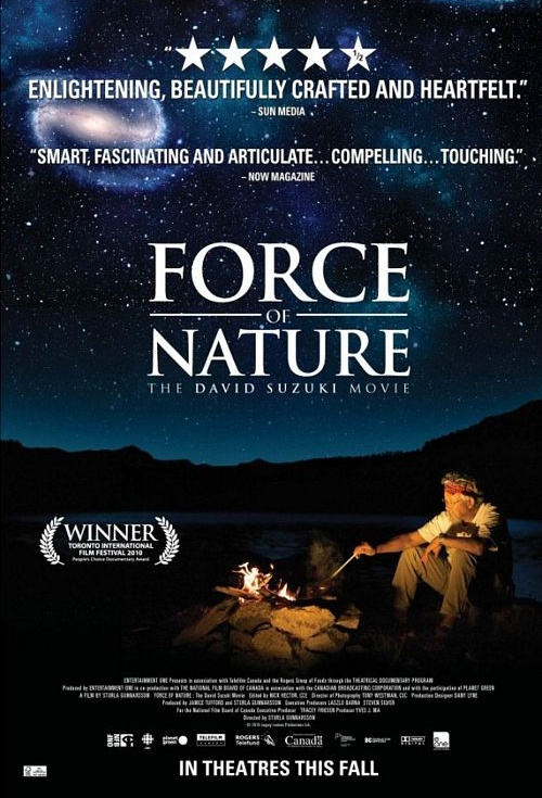 Force of Nature: The David Suzuki Movie Film Poster