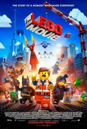 The LEGO Movie 3D Film Poster