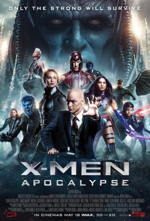 X-Men: Apocalypse 3D Film Poster