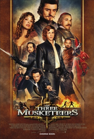 The Three Musketeers 3D Film Poster