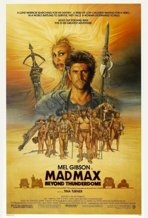 Mad Max Beyond Thunderdome Film Poster