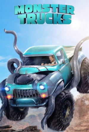 Monster Trucks 3D Poster