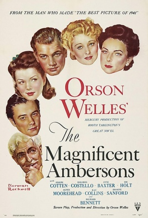 The Magnificent Ambersons Film Poster