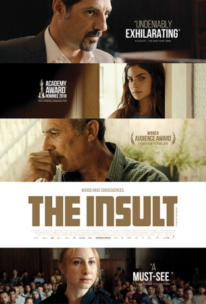 The Insult Film Poster