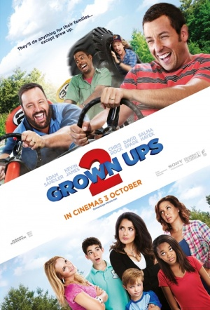 Grown Ups 2 Film Poster