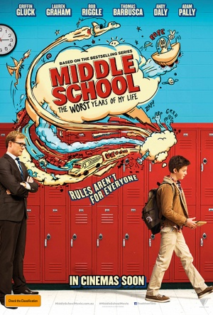Middle School: The Worst Years of My Life Film Poster