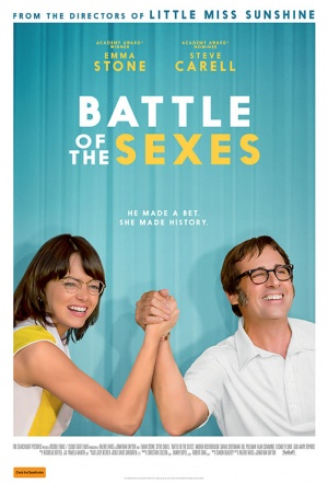 Battle of the Sexes Film Poster