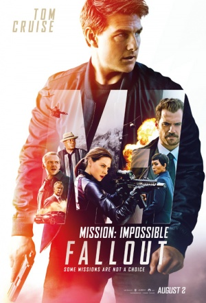 Mission: Impossible 3D - Fallout Film Poster
