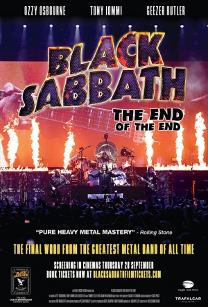 Black Sabbath: The End of the End Film Poster
