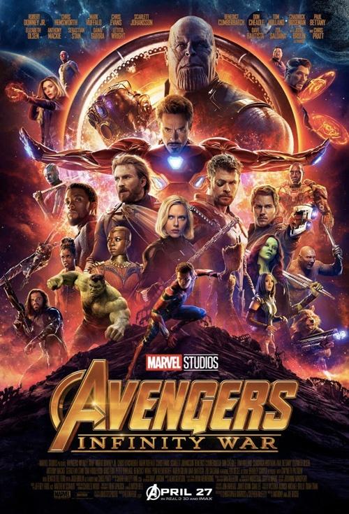 Avengers: Infinity War 3D