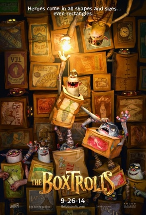 The Boxtrolls 3D Film Poster