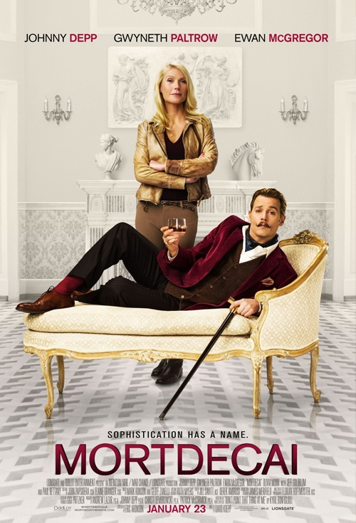 Mortdecai Film Poster