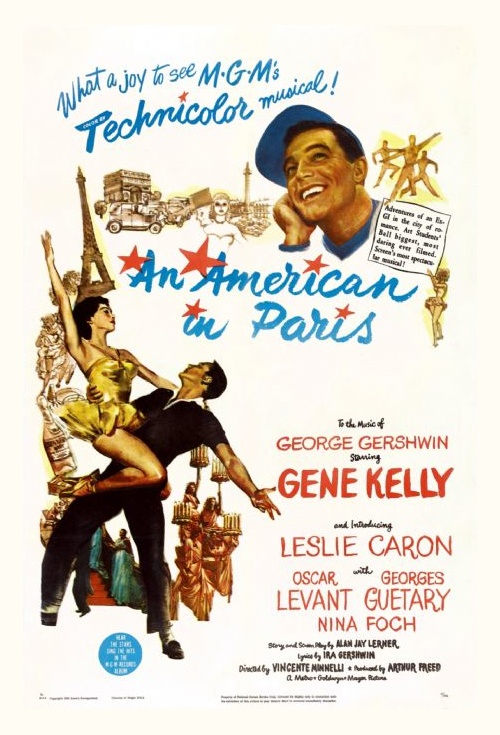 An American in Paris Film Poster