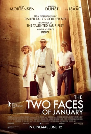 The Two Faces of January Film Poster