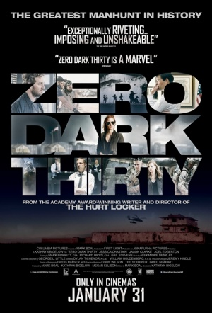 Zero Dark Thirty Film Poster