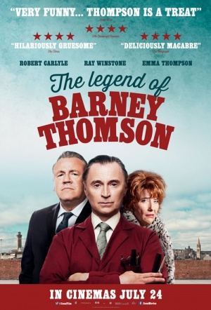 The Legend of Barney Thomson Film Poster