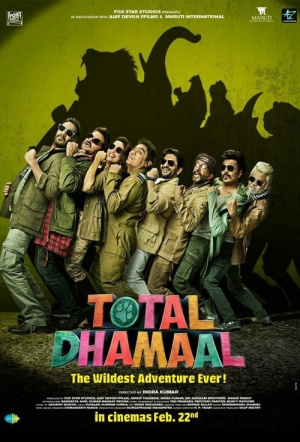 Total Dhamaal Film Poster